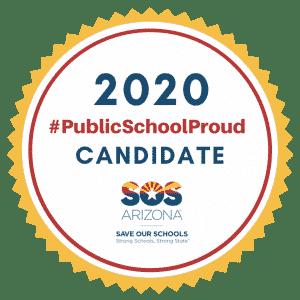 2020 Public School Proud Candidate Seal