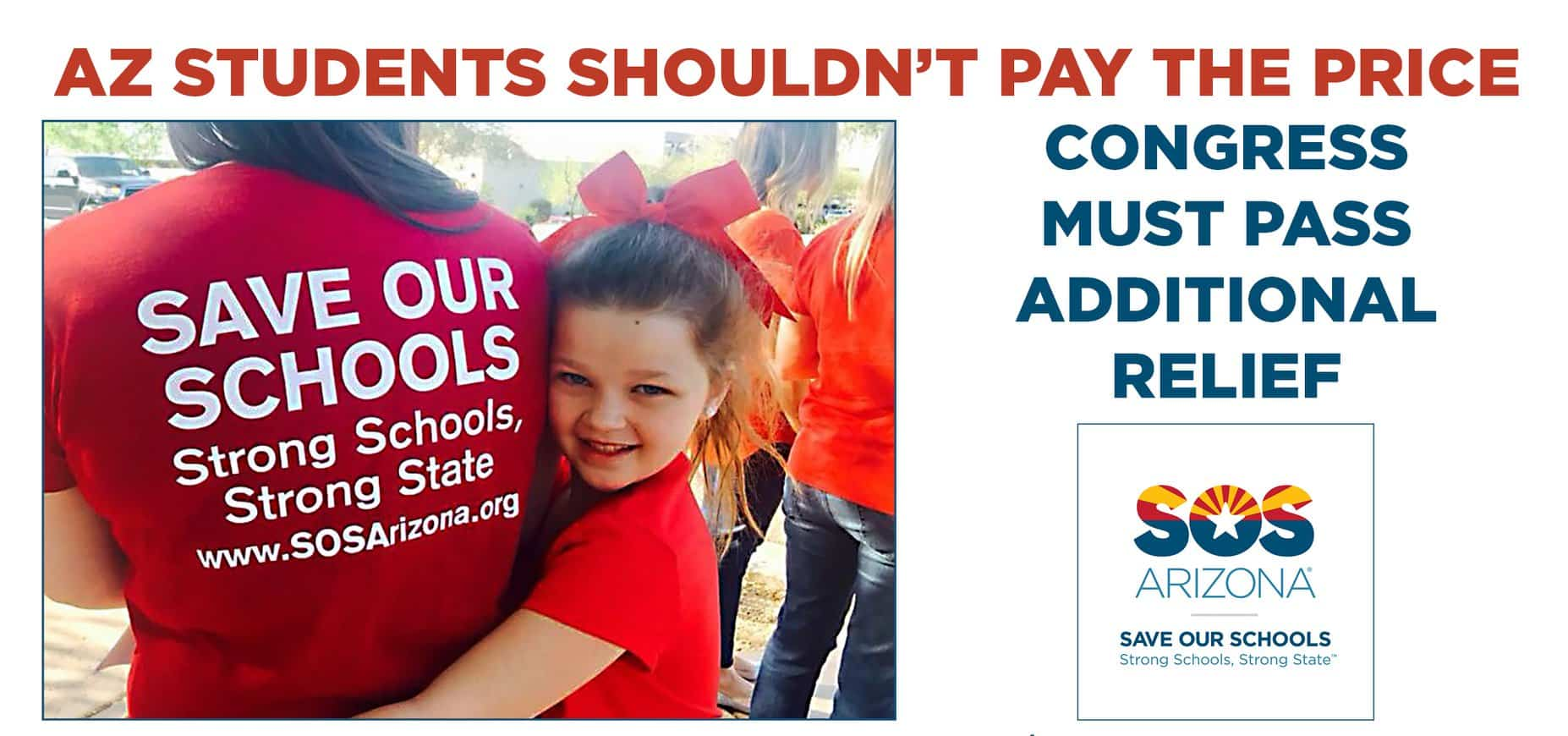 AZ students shouldn't pay the price! Congress must pass additional relief