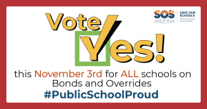 Vote Yes this November 3rd for ALL schools on bonds & overrides