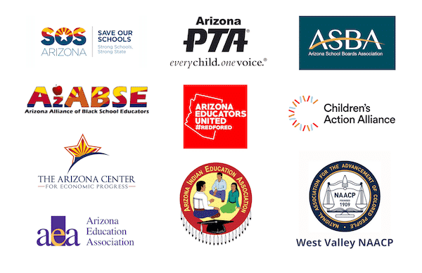 An open letter to Speaker Bowers and the AZ House of Representatives, Signed by: SOSAZ, AZ PTA, ASBA, AzABSE, AEU, CAA, ACEP, AEA, AIEA, WV NAACP